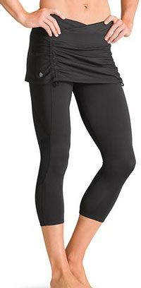 Athleta Flirty 2 in 1 Capris