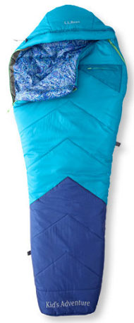 L.L. Bean Kids Adventure Sleeping Bag
