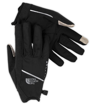 TNF runners-glove