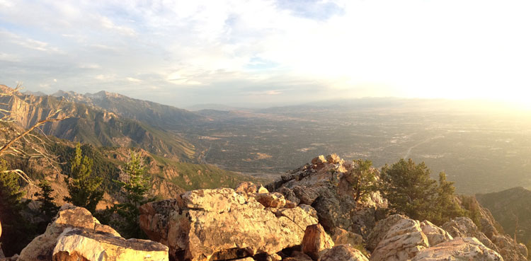Summit of Mount Olympus