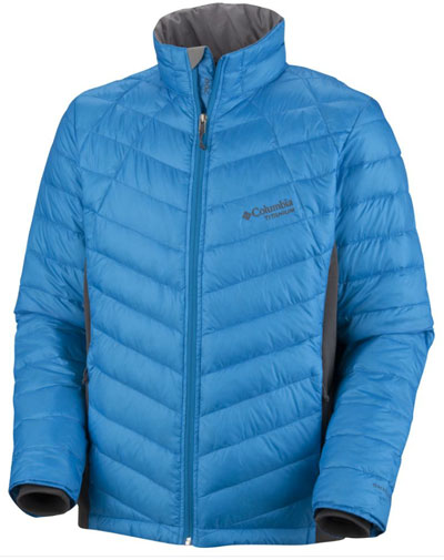 Columbia Reach the Peak Hybrid down Jacket