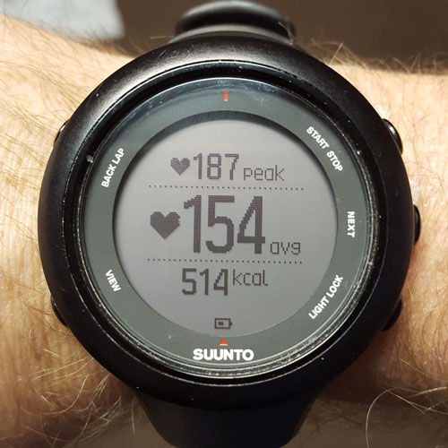 Suunto Ambit3 Heart Rate